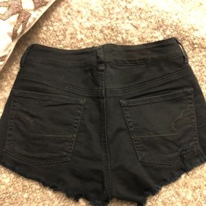 American Eagle Outfitters Shorts - American Eagle Black Denim Shorts Size 8